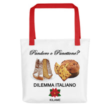 Load image into Gallery viewer, Tote bag 'Pandoro o Panettone'