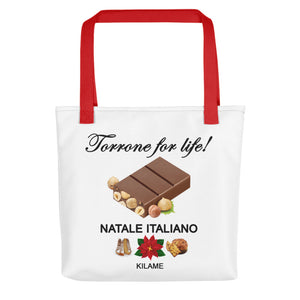Tote bag 'Torrone for life'