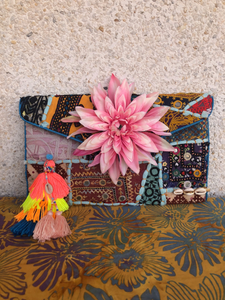 Tonia Flowers Clutch