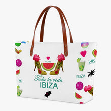 Load image into Gallery viewer, Classic Tote Bag 'Toda la vida Ibiza'