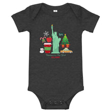 Load image into Gallery viewer, Baby body 'Christmas in New York'