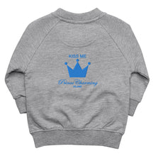 Load image into Gallery viewer, Baby Organic Bomber Jacket 'Prince Crown'