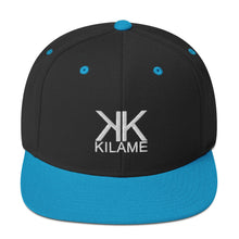 Load image into Gallery viewer, Snapback Hat 'Kilame logo'