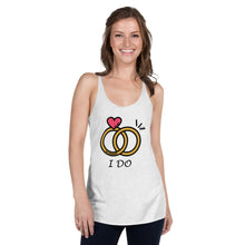 Load image into Gallery viewer, Women's Racerback Tank 'I DO'