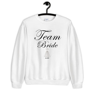 Sweatshirt 'Team Bride'