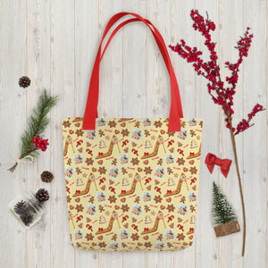 Tote bag 'Ginger bread shoes'