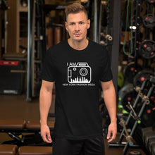 Load image into Gallery viewer, Short-Sleeve Men's T-Shirt 'I AM NEW YORK FASHION WEEK'