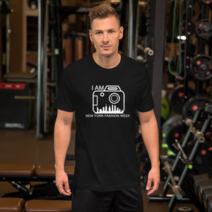 Short-Sleeve Men's T-Shirt 'I AM NEW YORK FASHION WEEK'