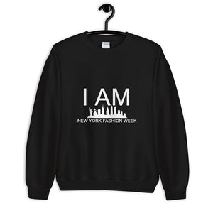 Unisex Sweatshirt 'I AM NEW YORK FASHION WEEK'