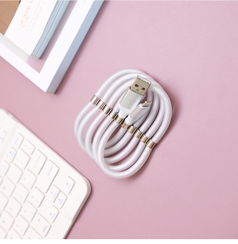 ⚡CableO™ Self-Winding Charging Cable