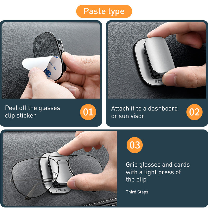 Auto Sun Visor Glasses Holder