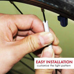 Bicycle Wheel Spoke Reflector (12 Pieces)