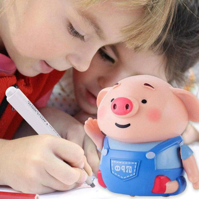 🔥BEST Christmas Gift🔥Inductive Pig Toy Follow Black Drawing Lines