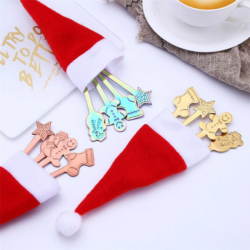 Cute Christmas Spoon(4 Pieces)