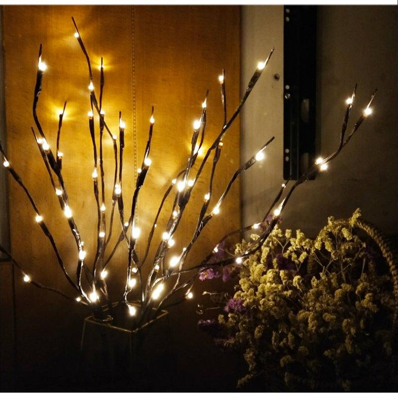 LED Decorative Twig Light(2 Pack)