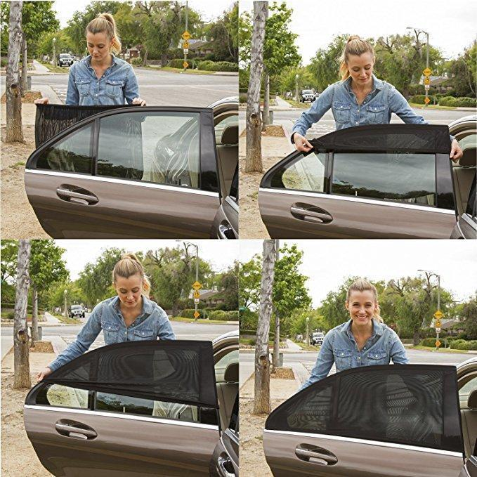 Slip-On Auto Window Shades (2 Pieces)