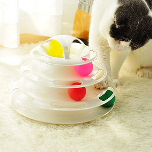 Interactive Cat Toys Track Ball Toy