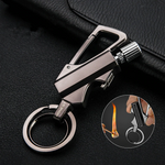 Camping Emergency Fire Starter Keychain Multi-Tool
