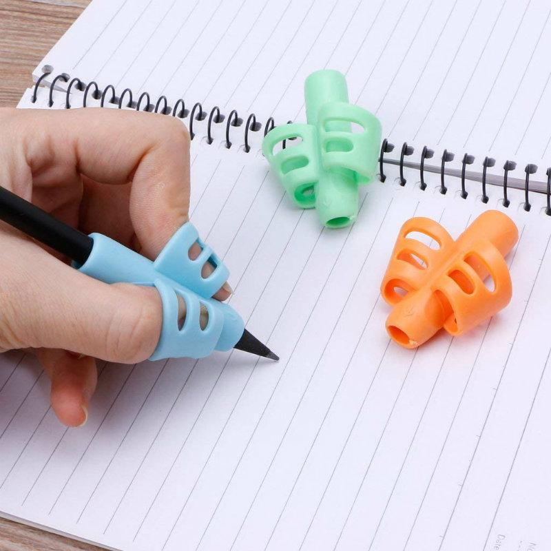 Ergonomic Training Pencil Holder(3 pieces)