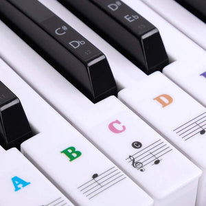Ultimate Full Set Piano Key Sticker