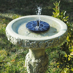 Solar-Powered Garden Fountain Kit