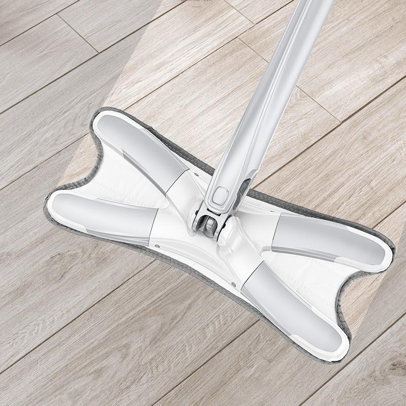 Hands-free Wet Floor Mop (2 colors randomly shipped)
