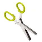 Multifunctional 5 Layer Scissors