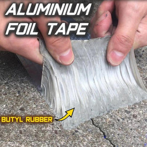 Aluminum Foil Butyl Waterproof Tape(1mm Thick)