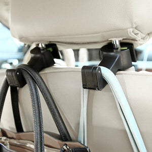 Universal Car Headrest Hook (2 pieces)