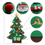 Kids DIY Felt Christmas Tree