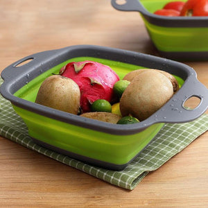 Square Collapsible Colander(2 pieces)