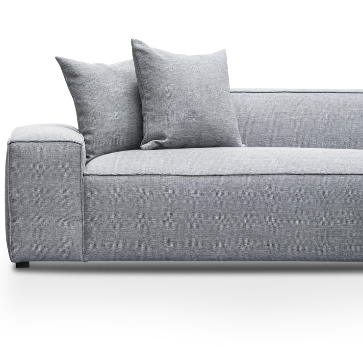 CLC2853-CA 3 Seater Right Chaise Sofa - Coin Grey