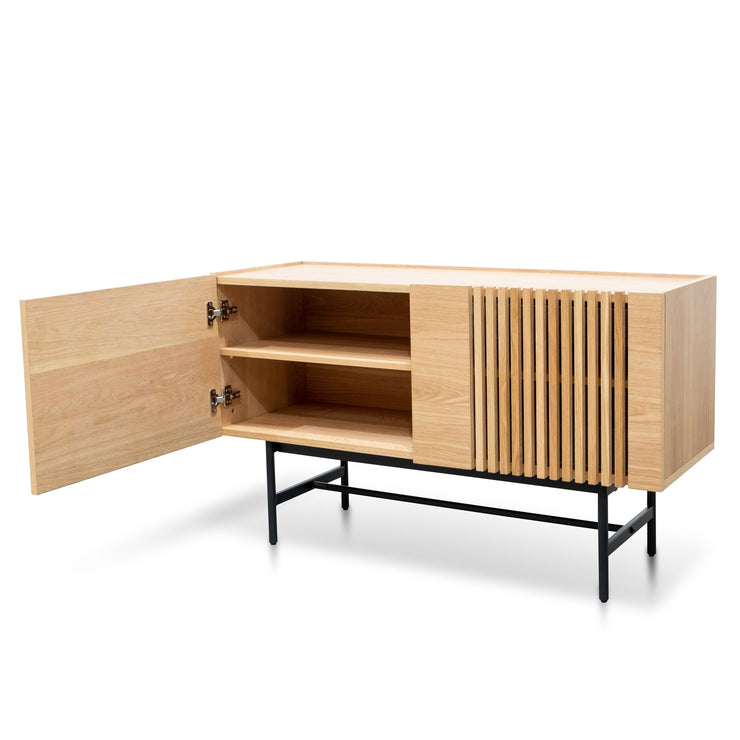 CDT2812-KD Buffet Unit - Natural with Black Legs