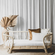 Audrey Daybed | Rattan White