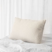 Benard Cushion Boucle Rectangle | Ivory White