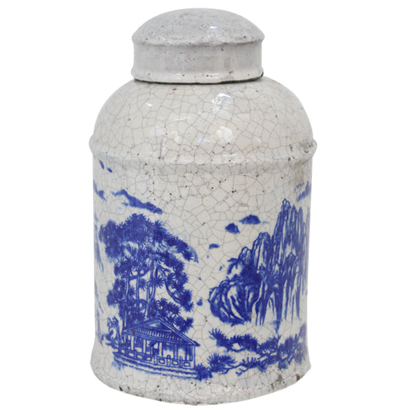 Nanjing Lidded Jar Medium