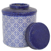 Mosaic Lidded Jar Medium