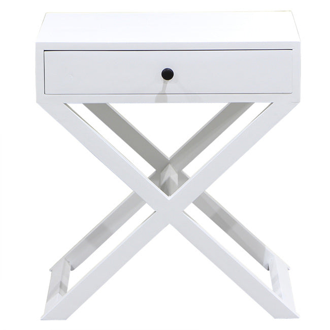 Nantucket Crossed Bedside Table