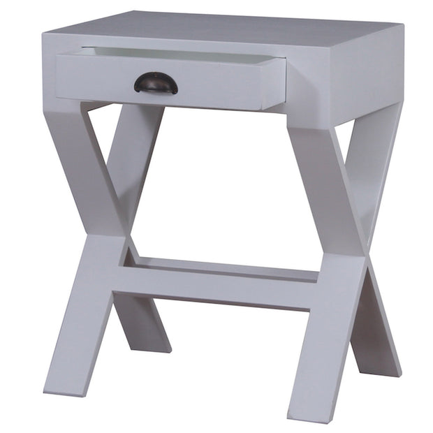 Marseille Bedside Cross leg sidetable