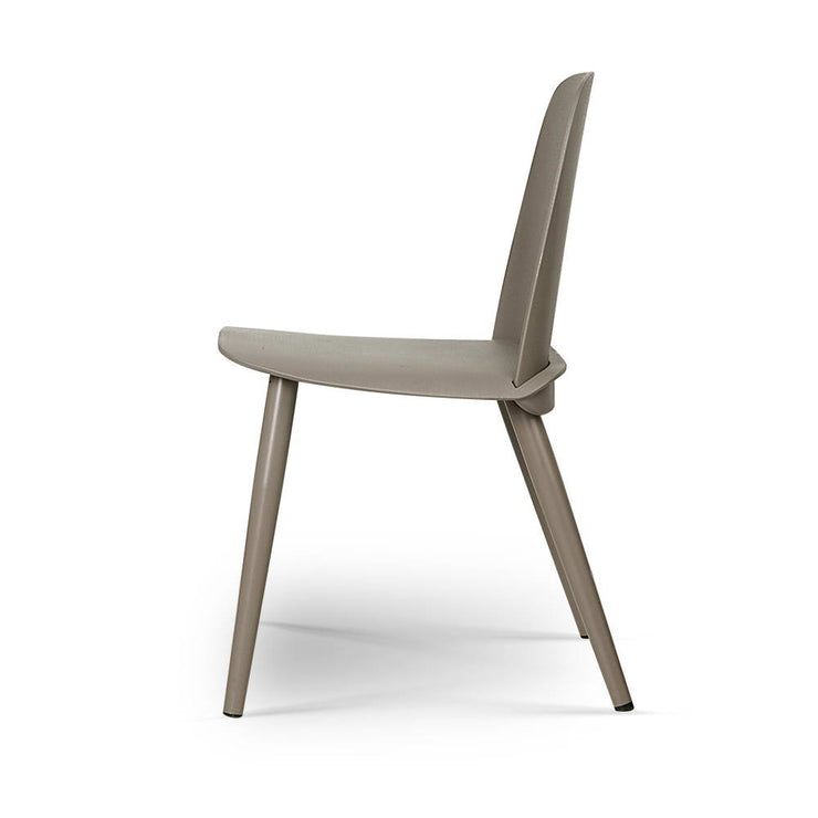 Artiss Set of 2 Nerd Replica Dining Chair - Grey