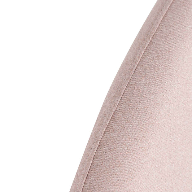 CBD6351-YO Fabric King Bed - Blush Pink with Storage
