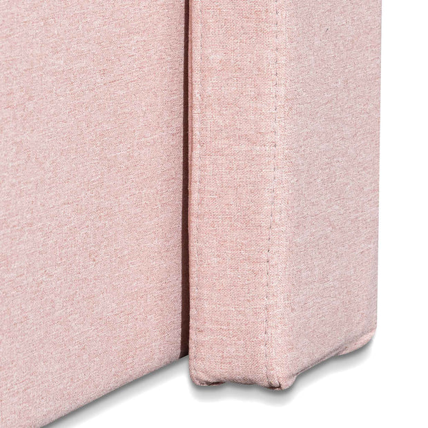 CBD6356-YO Fabric Queen Bed - Blush Pink with Storage