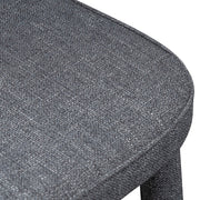 CDC6118-ST Fabric Dining Chair - Dark Grey