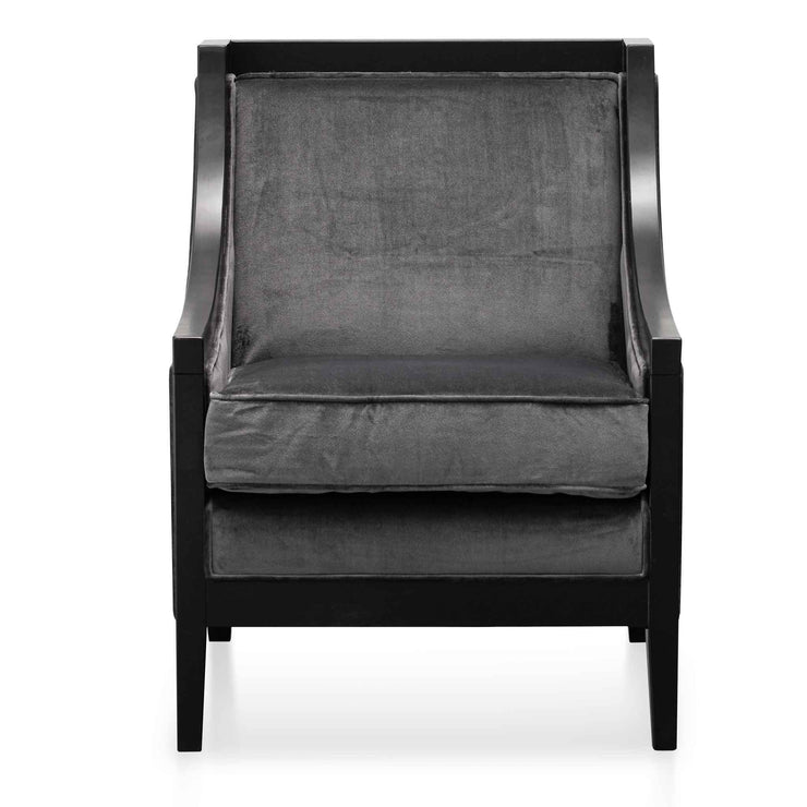 Armchair - Cosmic Grey Velvet