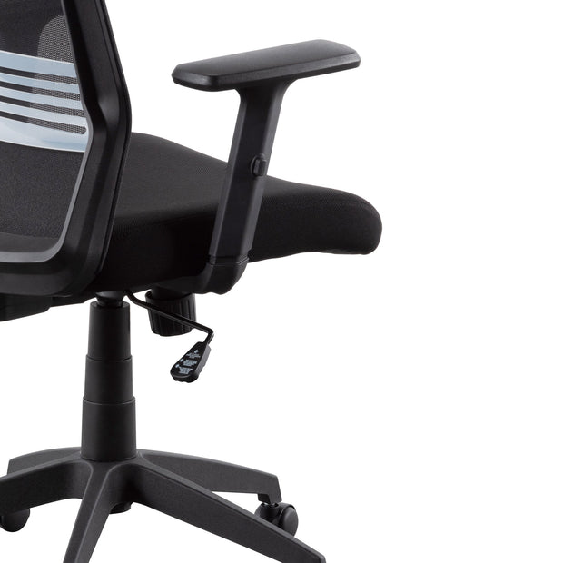 Mesh Office Chair - Full Black