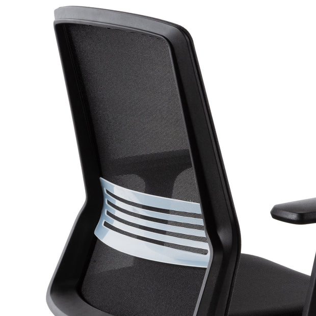 COC6207-LF Mesh Office Chair - Full Black