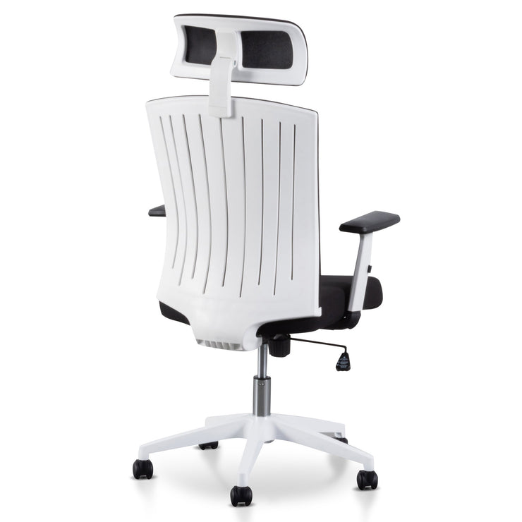 COC6208-LF Office Chair - Black and White
