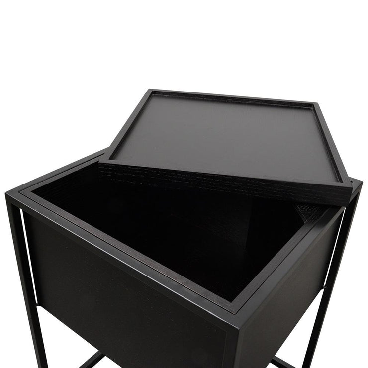 CST315-IG Side Table - Black