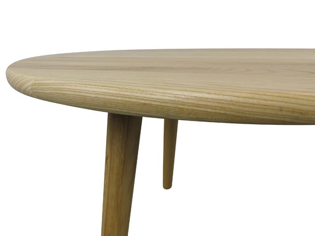 CCF430 66cm Round Coffee Table - Natural