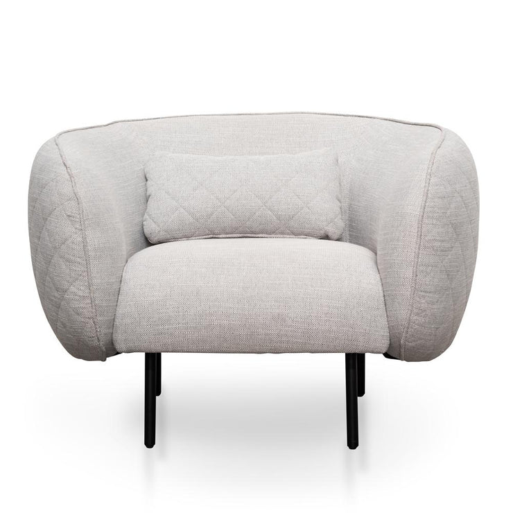 Armchair - Light Texture Grey